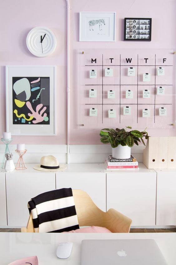 Calendario DIY metacrilato