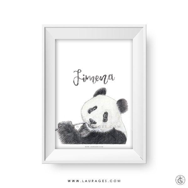 lamina oso panda