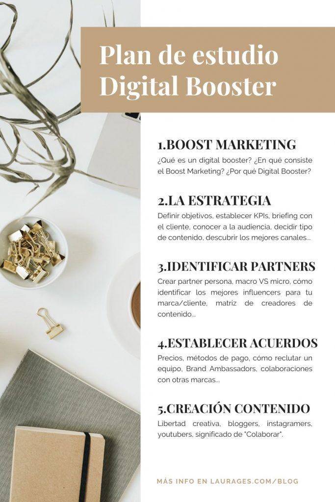 curso digital booster en español